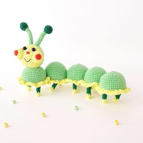 Гусеничка Лапа : схема вязания крючком