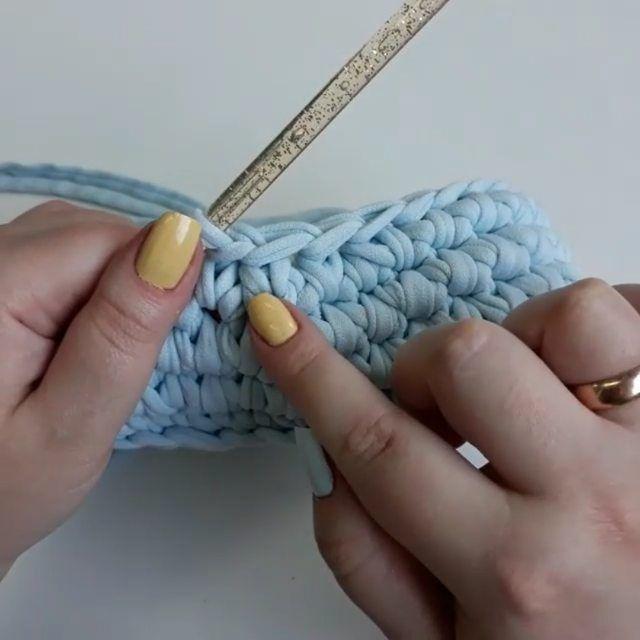 Невидимая убавка для вязания игрушек