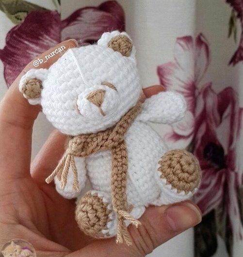 Схема вязания медвежонка для начинающих