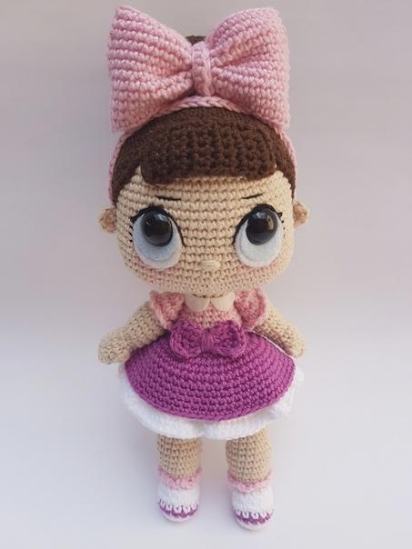 Кукла амигуруми схема