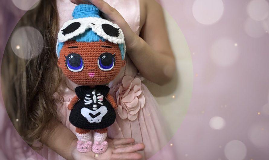 Амигуруми кукла Лол: видео МК