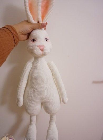 Амигуруми кролик крючком