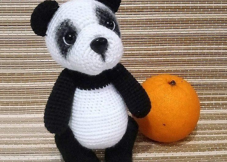 Схема вязания амигуруми панды