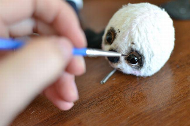 Советы по тонированию вязанных игрушек