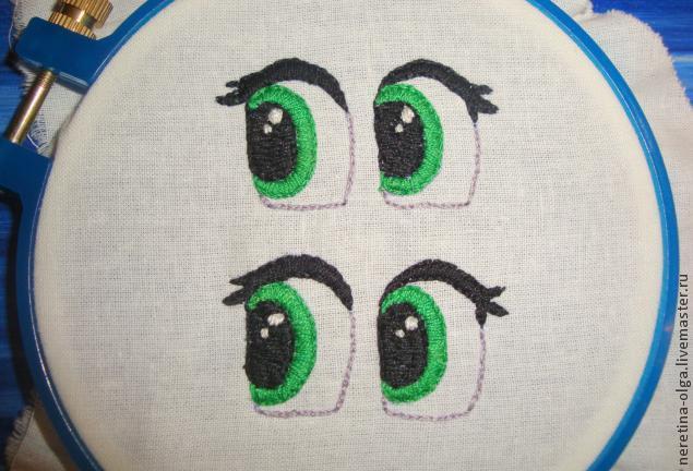 Готовые глазки