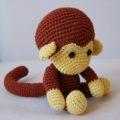 Амигуруми обезьяна пошаговая схема вязания крючком