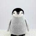 Схема вязания пингвина крючком с фото описанием