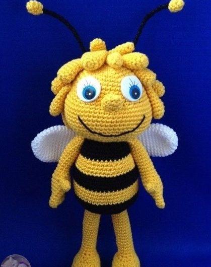 Амигуруми пчелка Майя