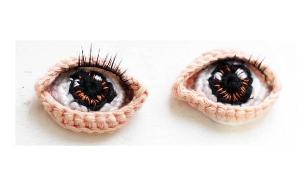 Вязаные глаза