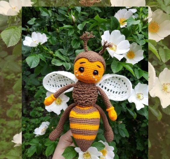 Амигуруми пчелка Флай