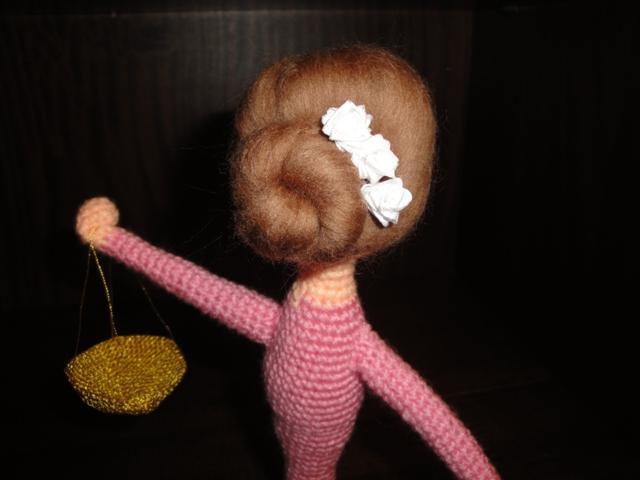 Волосы для куклы из натуральных материалов