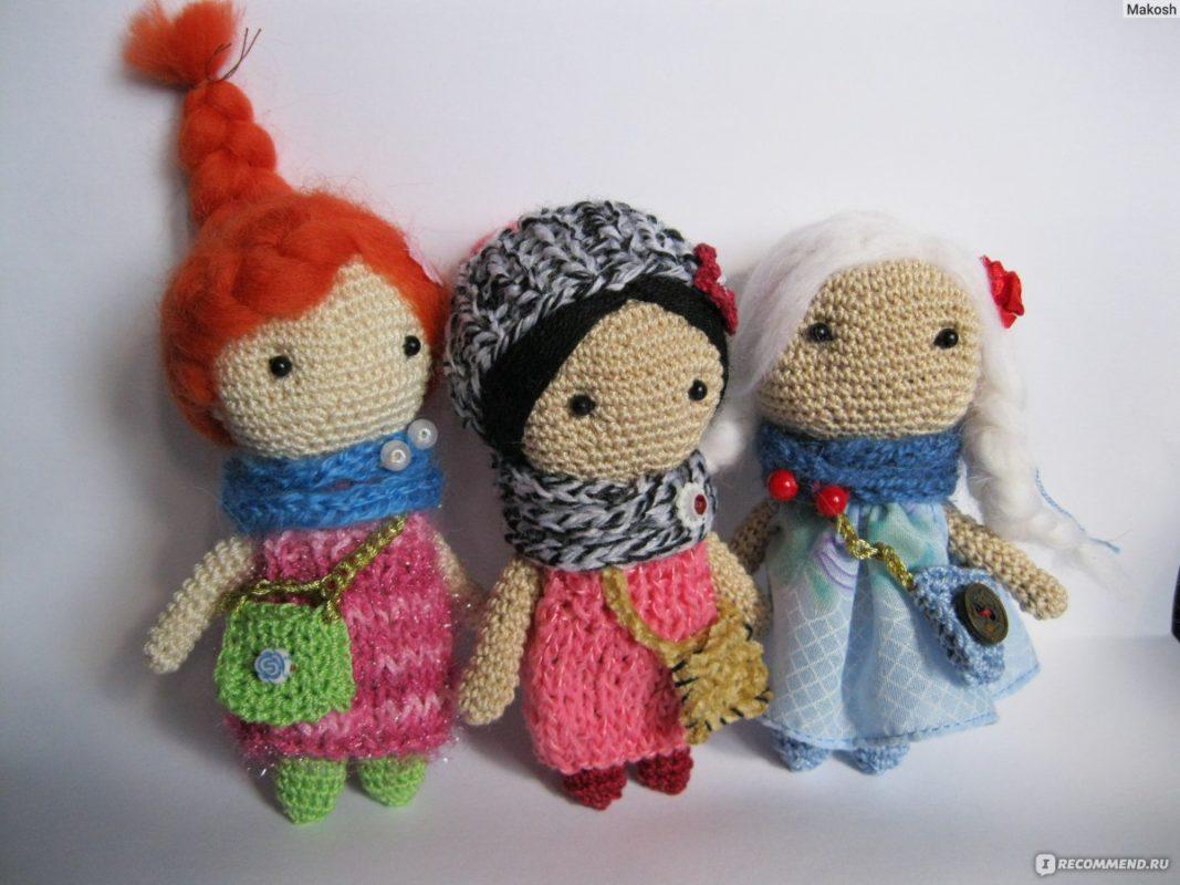 Волосы для вязаной куклы из шерсти для валяния