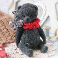 Схема вязания медведя с подвижными лапками пошаговый МК с фото