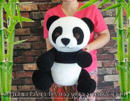 Милая панда крючком легкая схема вязания с описанием