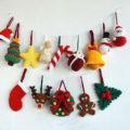 Новогодние украшения крючком пошаговая схема вязания