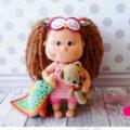 Полная пошаговая схема вязания куклы лили крючком