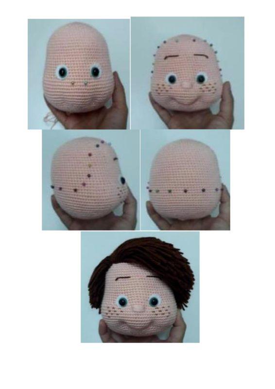 Оформление головы