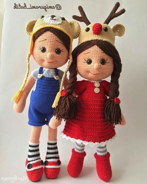 Вяжем куклу крючком простая схема вязания с описанием