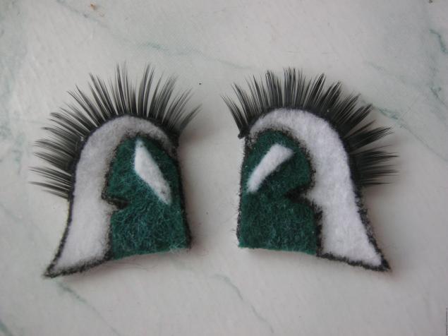Глаза для вязаных игрушек из фетра
