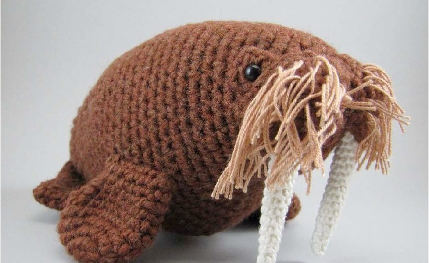 Схема вязания моржа крючком