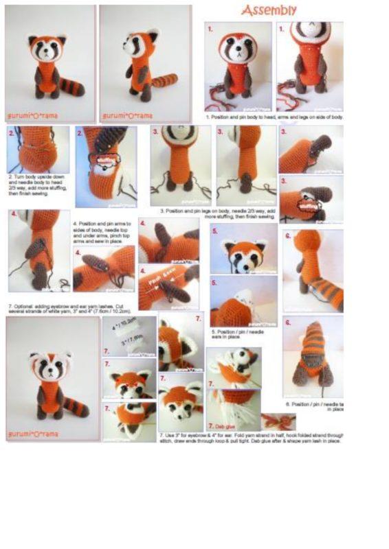 Оформление готовой игрушки
