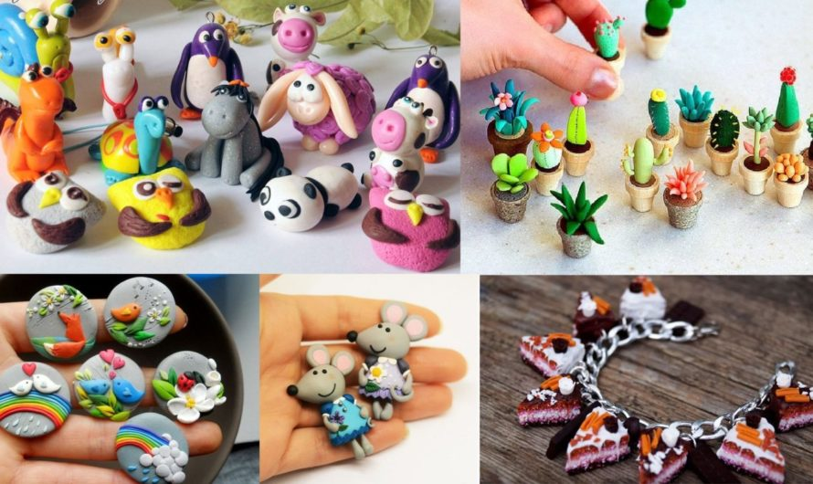 Аналог полимерной глины для оформления вязаных игрушек