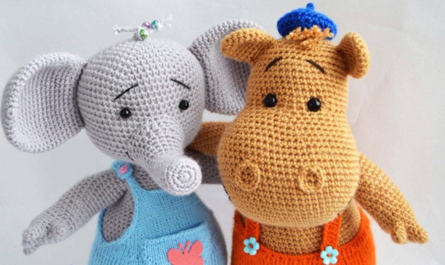 Схема вязания Тимы и Томы крючком из мультфильма «Тима и Тома»