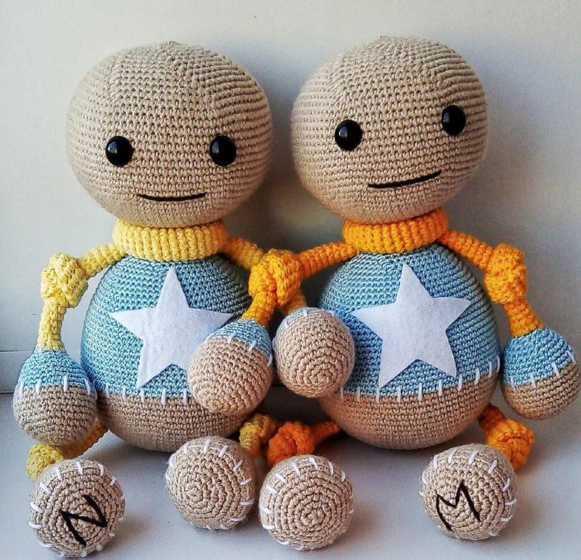 Амигуруми кукла Бадди простая схема вязания амигуруми - Умелки