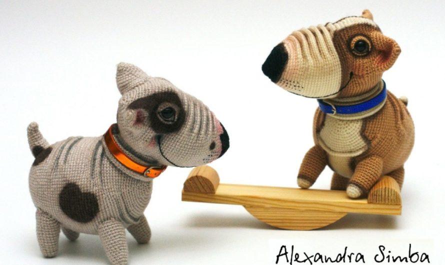 Амигуруми щенки вязаные крючком: пошаговый МК по вязанию